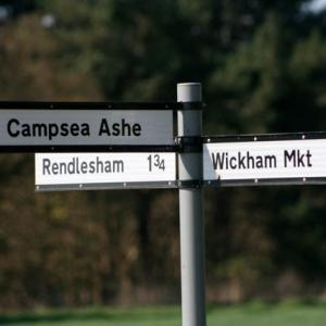Campsea Sign post